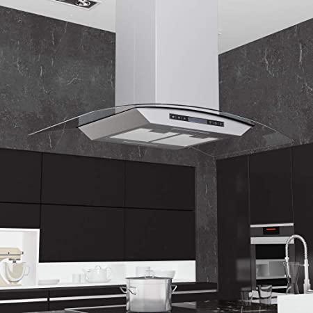 Zora Walter Campana extractora de Techo 90 cm Pantalla táctil 756 m³/h LED Electrodomésticos de Cocina Potencia máxima: 180 W: Amazon.es: Hogar