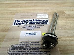 "Bradford White 265-42540-02 1500W/120V 5.75"" Screw-In Water Heater Element"