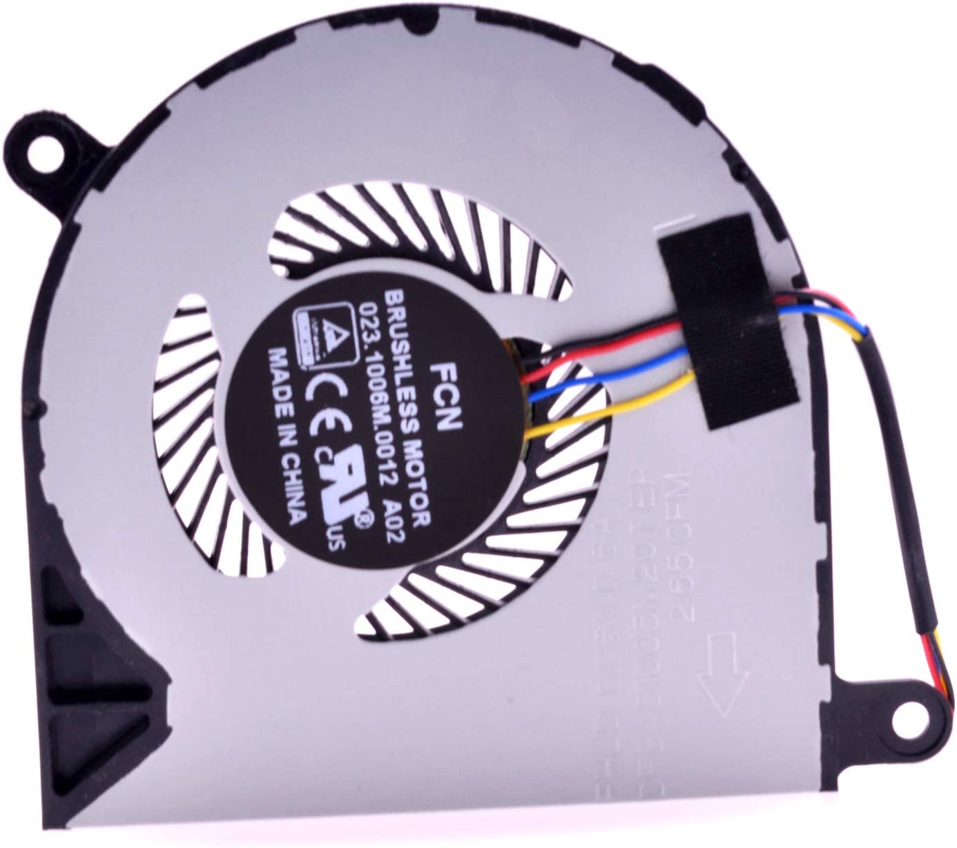 PartEGG CPU Cooling Fan Replacement for Dell Inspiron 13 5368 5378 5379 5568 7378 Inspiron 15-5568 7368 7569 7579 13MF 031TPT 31TPT