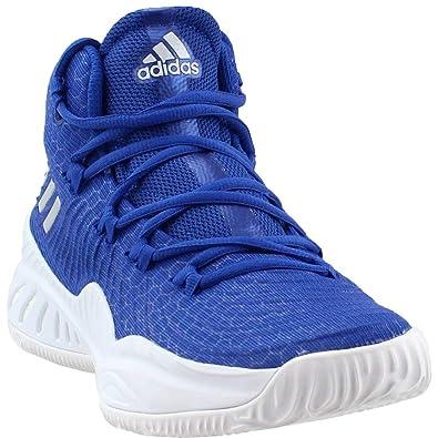 the latest 613c6 89071 adidas Crazy Explosive 2017 NBA NCAA Shoe - Men s Basketball 11 Blue Silver  Metallic