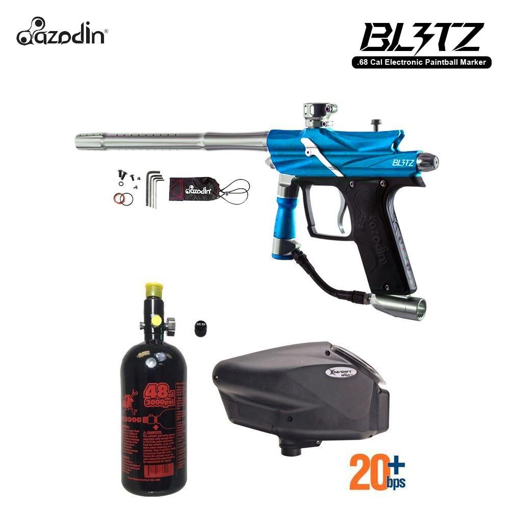 MAddog Azodin Blitz 3 HPA Paintball Gun Package - Blue by MAddog
