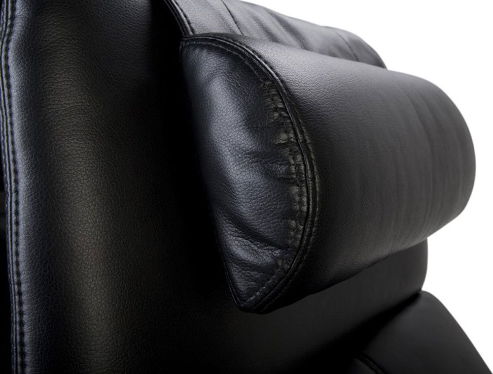 Octane Seating OCT BL Black Leather Recliner Neck Pillow