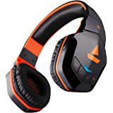 boAt Rockerz 510 Wireless Bluetooth Headphones (Molten Orange)