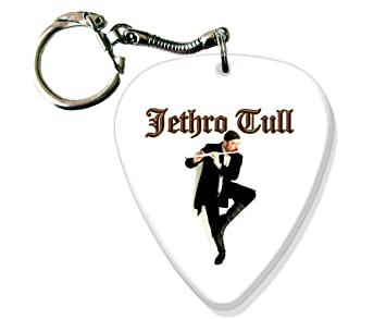 Jethro Tull BIG Guitarra Pick Llavero Band Púa Para: Amazon ...
