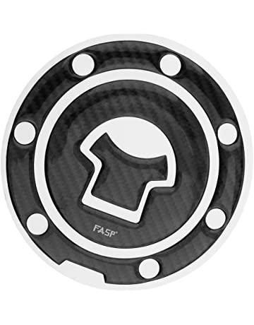Homyl Almohadilla de Tapa Gas Tanque Fibra Carbono Universal Para CB190R/750/400/