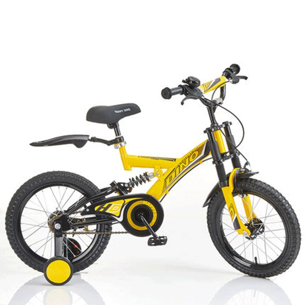 自転車 子供の自転車の男の子3-6歳の赤ちゃんのキャリッジ14インチ16インチ18インチの自転車ダブルショックアブソーバ (サイズ さいず : 16inch) B07DYF3Y1M 16inch 16inch