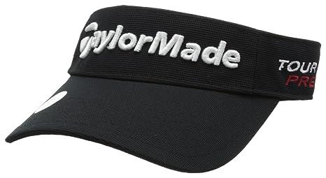 Amazon.com : TaylorMade Tour Radar Visor, Black, Adjustable : Golf Visors :  Sports & Outdoors