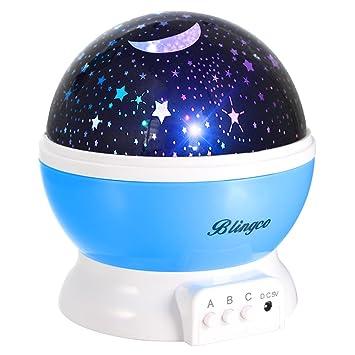 Amazon.com: Proyector de luz nocturna de estrellas para ...