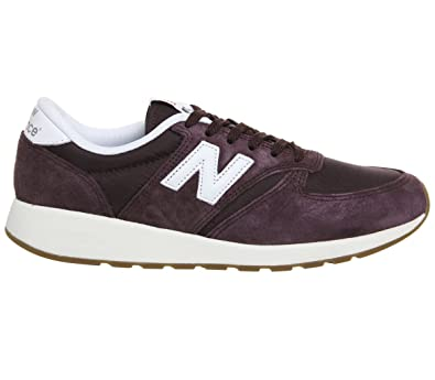 New Balance Buty 420 Re-Engineered Suede Zehenkappen, Rot (Red) 44.5 EU
