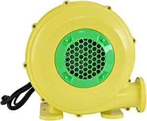 Laulry 480W Air Blower, Pump Fan Commercial Inflatable Bouncer Blower, Perfect for Inflatable Water Bounce House, Jumper, Bouncy Castle (480W)