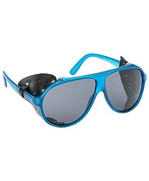 fbbeff8b870 AIRBLASTER Polarized Glacier Glasses Clear Navy One Size  Amazon.co ...