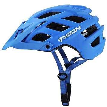 Moon Casco de Bicicleta para Adultos, Casco Ciclismo 22 Vents, Casco para Ciclismo de