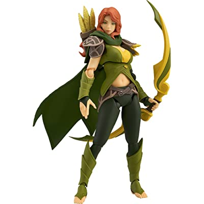 Good Smile Dota 2 Windranger Figma Action Figure: Toys & Games