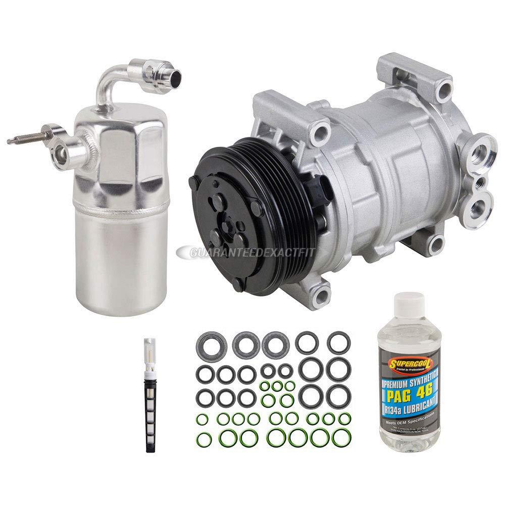 AC Compressor w/A/C Repair Kit For Chevy Silverado 1500 & GMC Sierra 1500 - BuyAutoParts 60-80166RK New