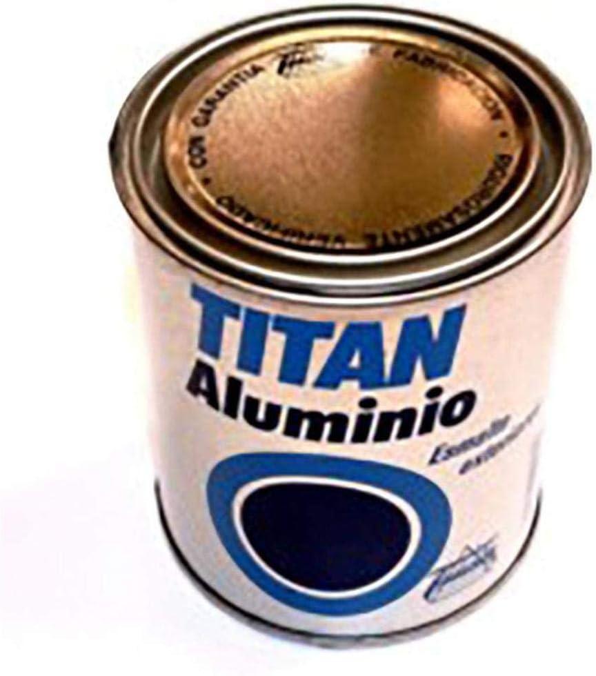 Titan M30710 - Esmalte aluminio exteriores 375 ml