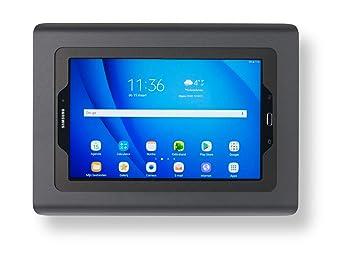 dd7dad77f29 Tabdoq Support Mural pour Tablette Samsung Galaxy Tab A 10.1 Noir ...