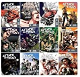 ATTACK ON TITAN BOOK SET #'s 1-12