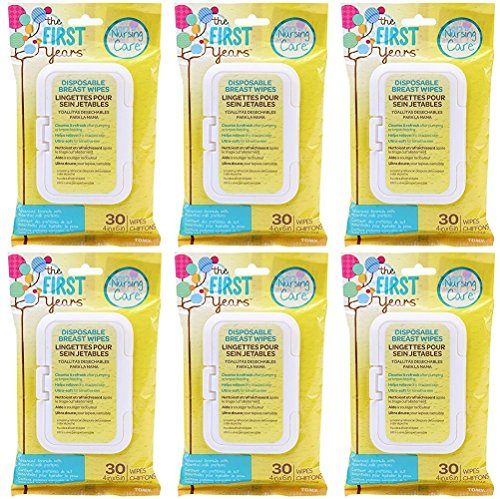 TFY Soothing Breast Wipes (180 Count)