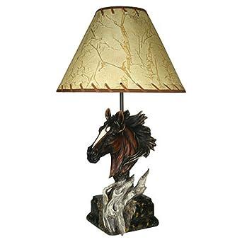 Horse table lamp horse table lamp lamp horse table vintage shade horse table lamp horse table lamp lamp horse table vintage shade metal head and aloadofball Gallery