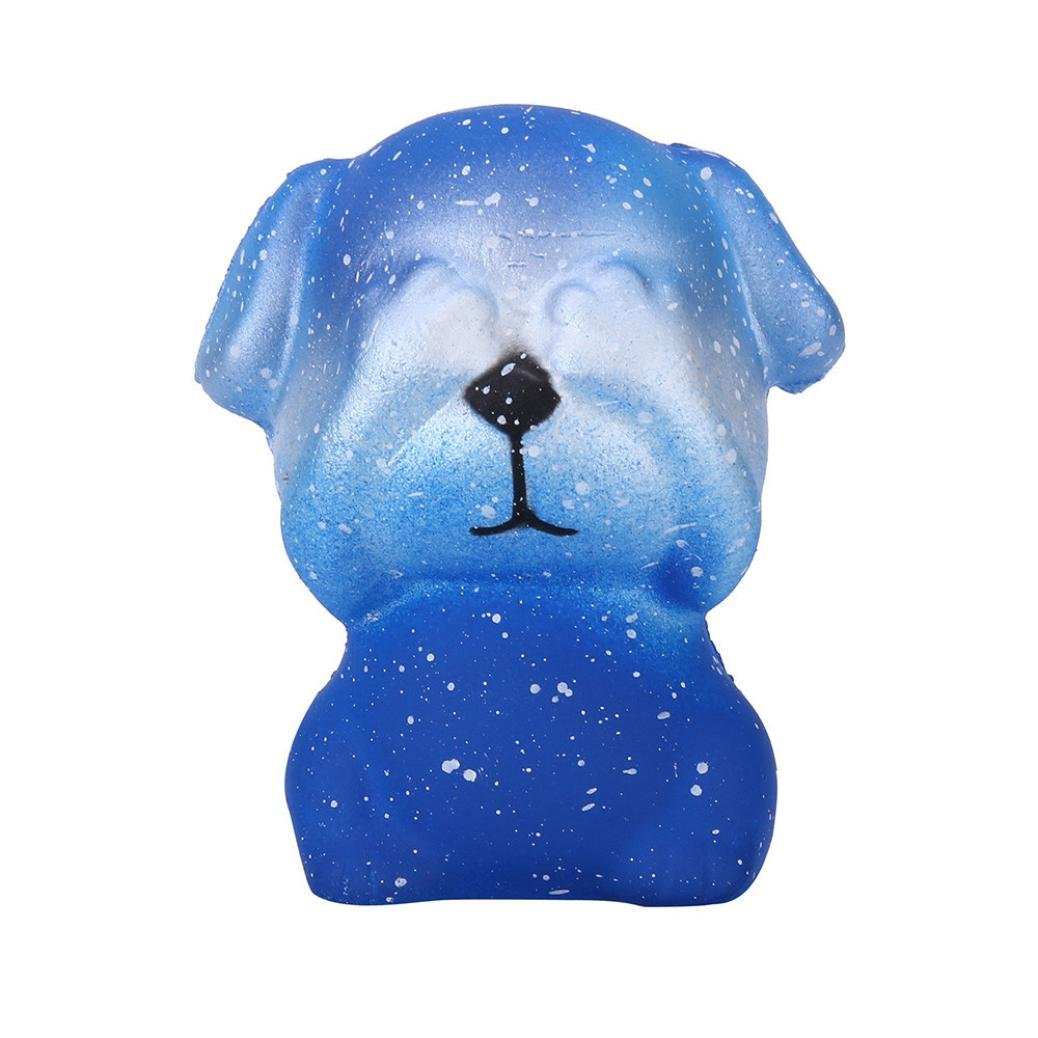 TrimakeShop 1PC Cute Dog Slow Rising Collection Squeeze Stress Reliever Toy