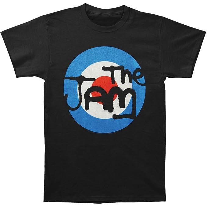 El objetivo de mermelada negro Logo camiseta jfWulbKK5