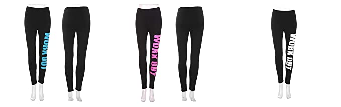 d099875b9ec83 Pack of 3) Women's/Girls/Ladies Hot/Stylish Black Work Out Combo ...