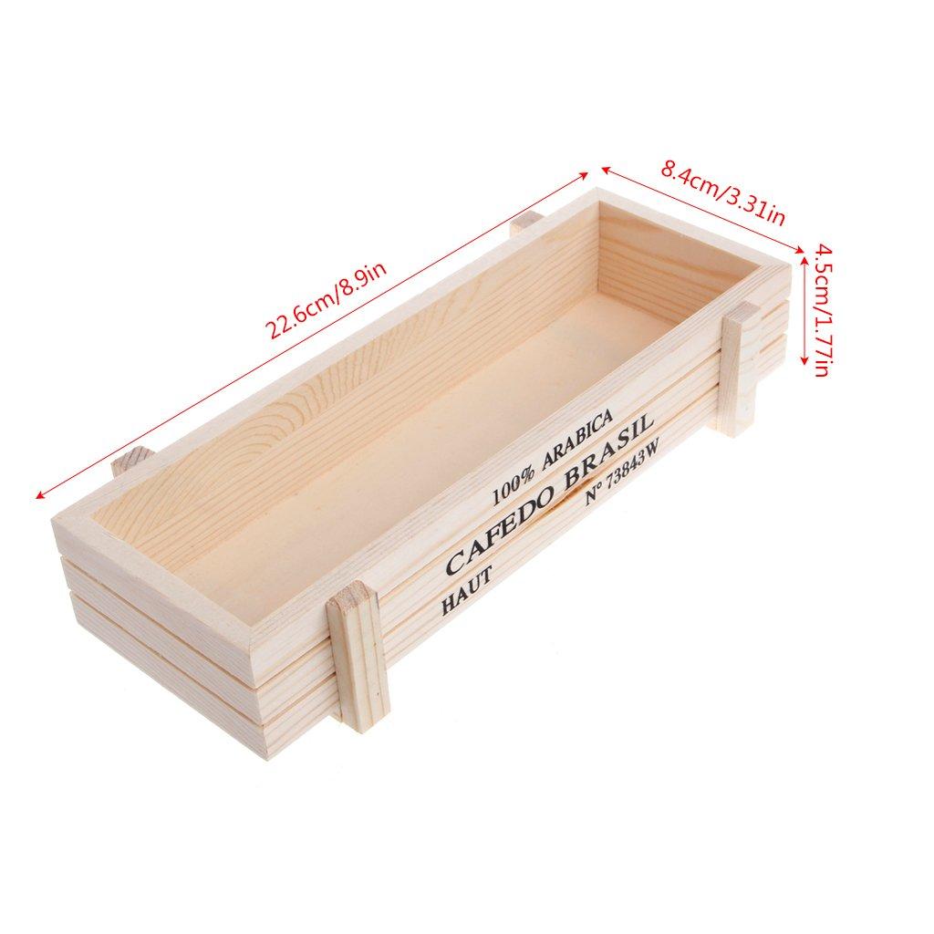 Macetero de madera, de JAGETRADE, estilo vintage ...