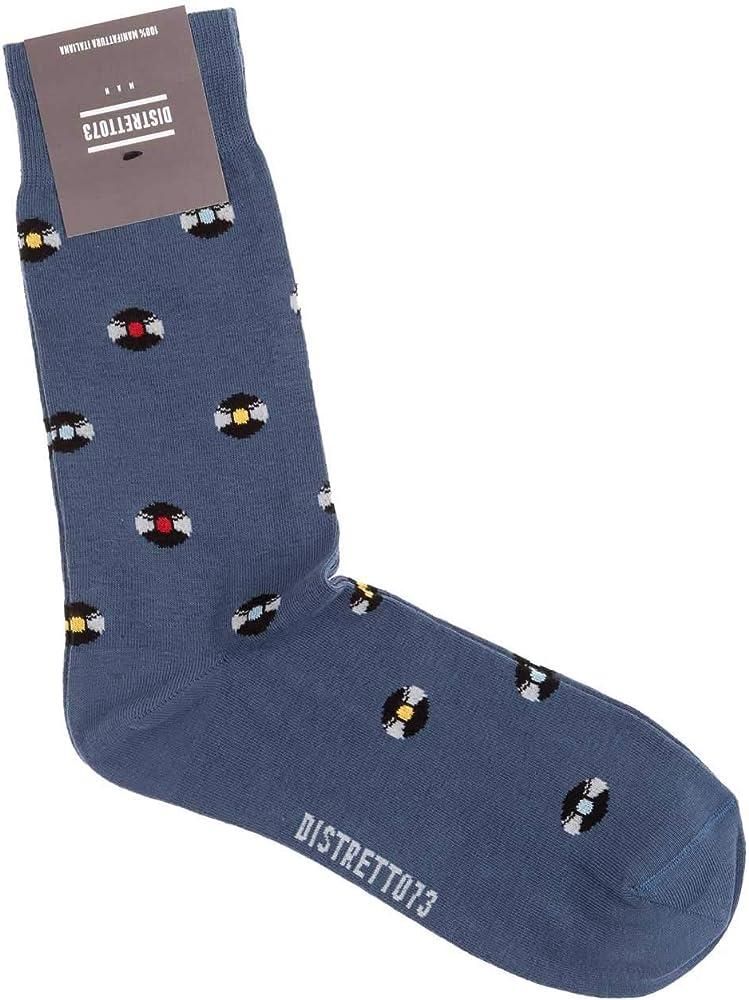 Distretto 73 - Calcetines cortos de algodón para hombre, diseño de ...