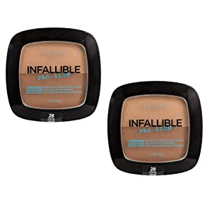 Pack of 2 L'Oreal Paris Infallible Pro Glow Lasting Glow Powder, Cocoa (28)