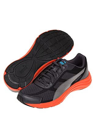 2662db9ba8cef7 Puma Expedite Men s Running Shoes (187561 12) (Asphalt Black) (UK ...