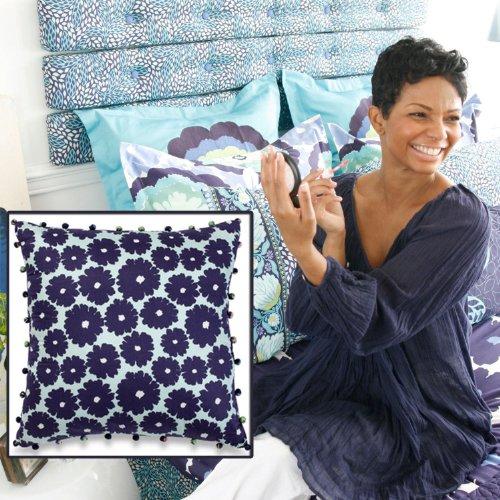 Amy Butler Dream Daisy Decorative Pillow (Flower Pattern) ()