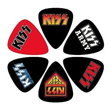Kiss 6 x Púa Set – Logos púas