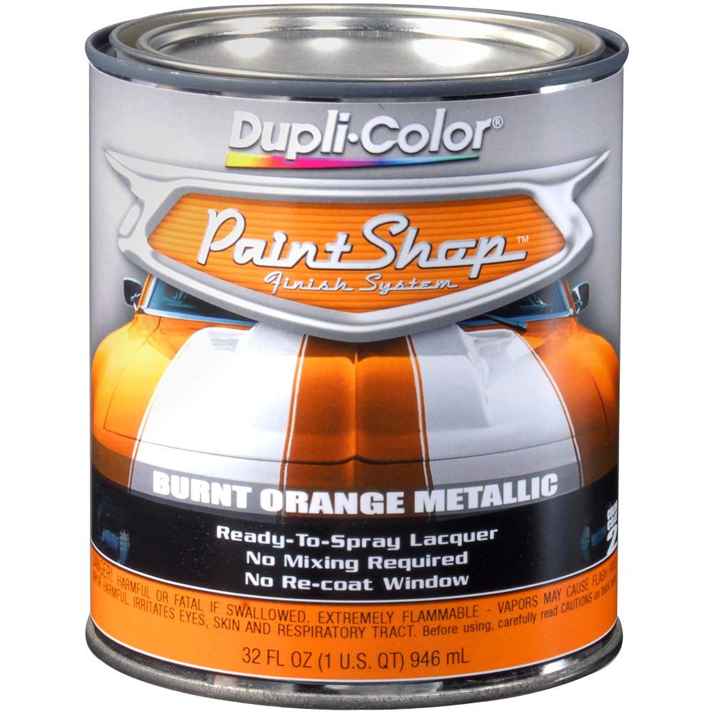 Dupli-Color (EBSP21100-2 PK 'Paint Shop' Burnt Orange Metallic Finish System Base Coat - 1 Quart, (Case of 2)
