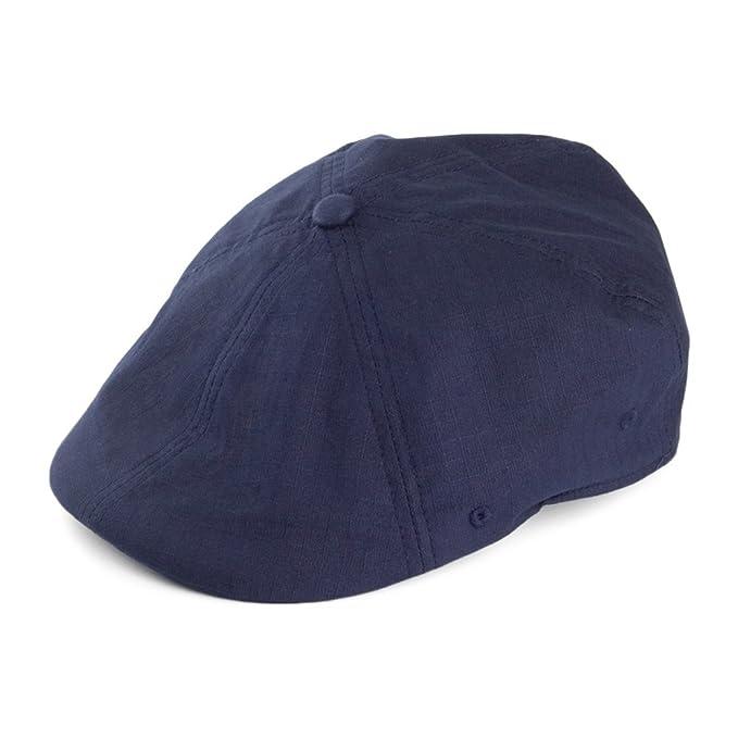 Walrus Hats Denim Eight Navy Cotton 8 Panel Newsboy Cap