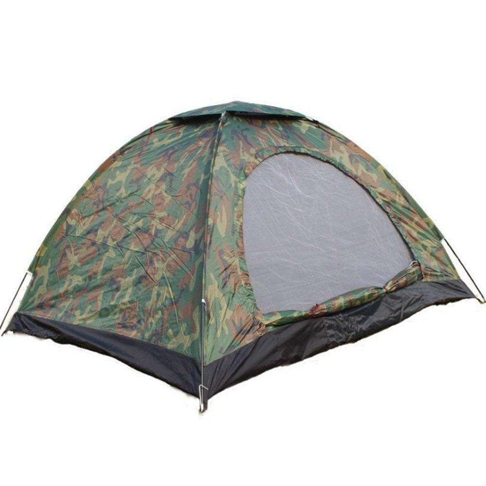 Yzibei Haltbar Doppeltes Zelt im Freienzelt-Tourismus-kampierender Freizeit-Sonnenschutz-Farbe besessen