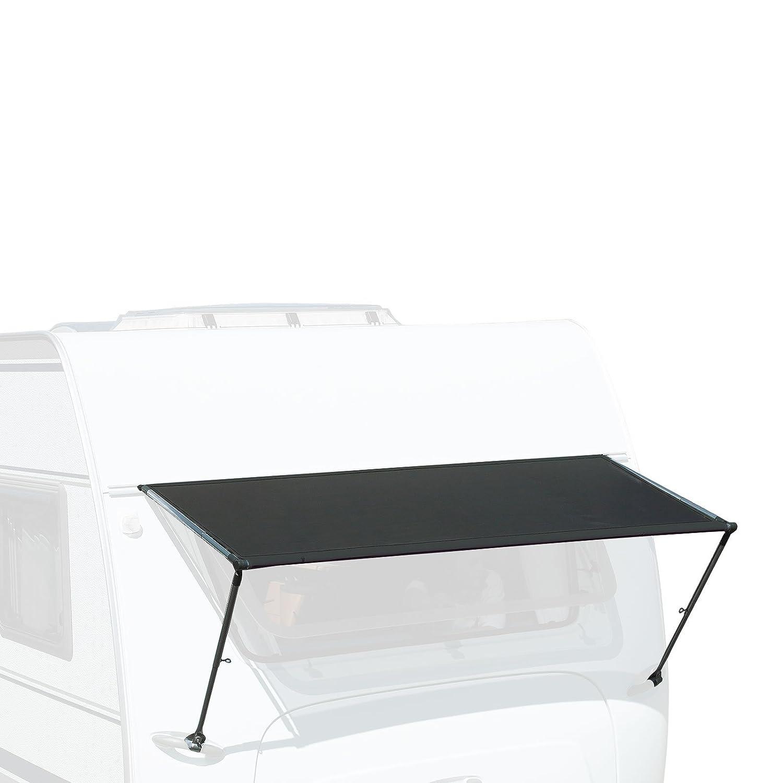 Wohnwagen Fenstermarkise 'Isabella' 190 cm Breit, Anthrazit, Universell passend