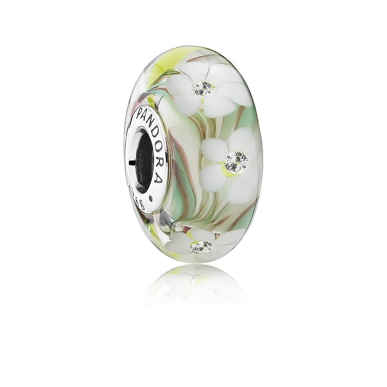 Amazon pandora 791638cz white flowers charm jewelry izmirmasajfo