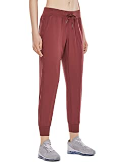d4819681d CRZ YOGA Women s Light Weight Drawstring Training Sports Jogger Pant with  Pocket