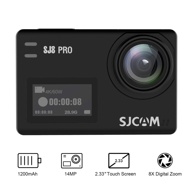 SJCAM SJ8 Pro Action Camera, Cámara 4 K Action CAM: Amazon.es: Electrónica