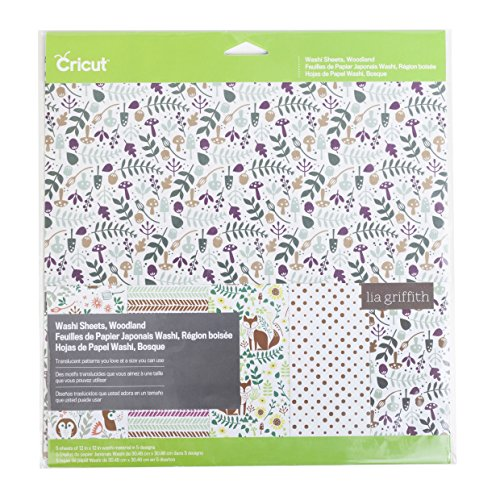 Cricut  Washi Sheets, Woodland ()