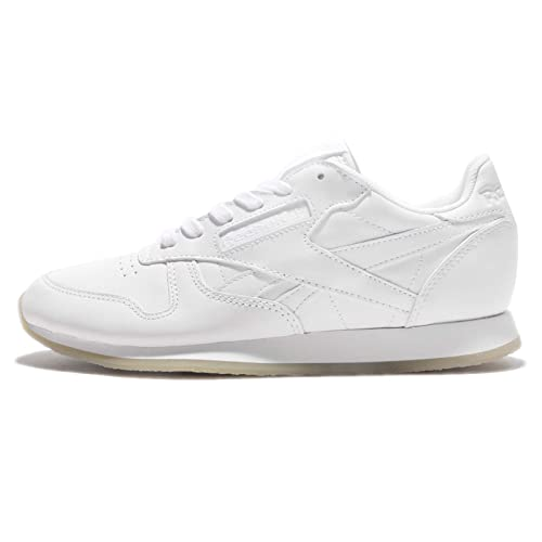 Zapatillas Reebok - Cl Leather Crepe Neutral Pop blanco/blanco/blanco talla: 39: Amazon.es: Zapatos y complementos
