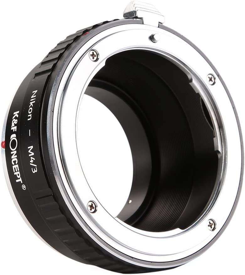 K/&F Concept Lens Mount Adapter Olympus OM to M4//3 Micro Four Thirds M43 System Camera Adapter GF2 GF3 G2 G3 GH2 E-PL3 PM1