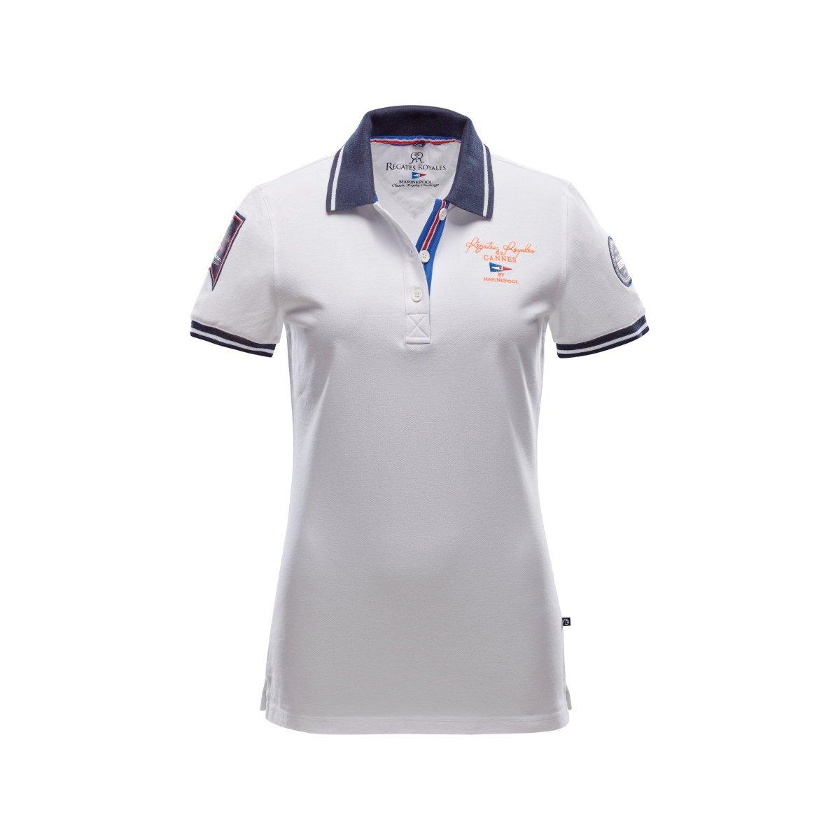 Marinepool RR Yacht Poloshirt Damen     weiß B01DDQ701E T-Shirts Charakteristisch 7299b3