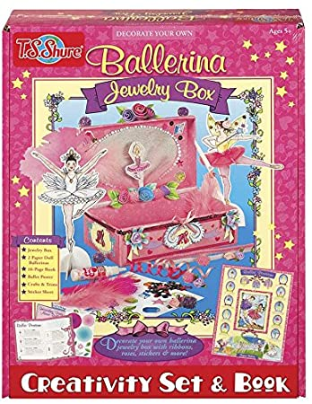 Amazoncom TS Shure Ballerina Jewelry Box Kit Toys Games