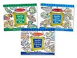 3 tear display - Melissa & Doug Jumbo 50-Page Kids' Coloring Pads Set - Animals, Vehicles, and More