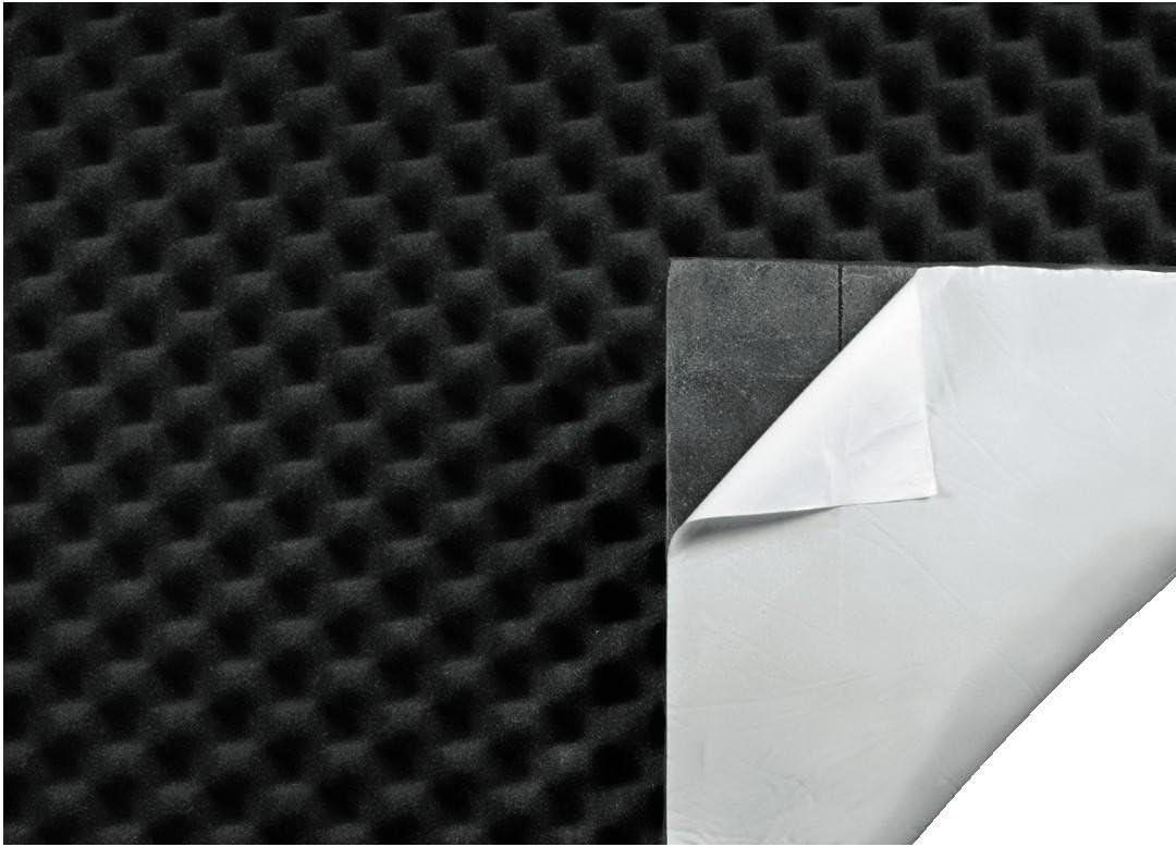 Eayse Auto Schallschutzmatte, Selbstklebende Schallschutzisolierung Matte F/ür L/ärmschutz Schalld/ämmung