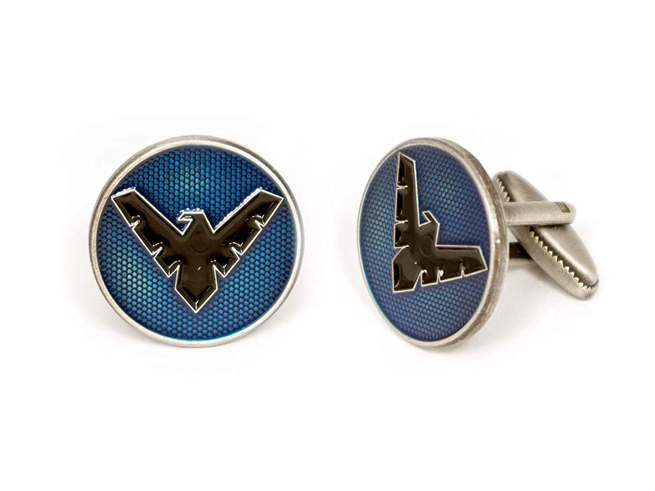 DC Comics Batman vs Superman Tie Tack Jewelry Teen Titans Robin Cuff Links Link Wedding Party Gift Justice League Logo Tie Clip Avengers Groomsmen Gifts Justice League Logo Cufflinks SharedImagination Nightwing Cufflinks