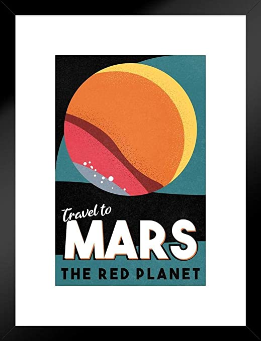 Take Me to Mars Framed Poster 14x20 inch