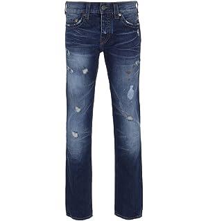 d121d061d True Religion Rocco Comfort Cobalt Blue Denim Jeans - 31