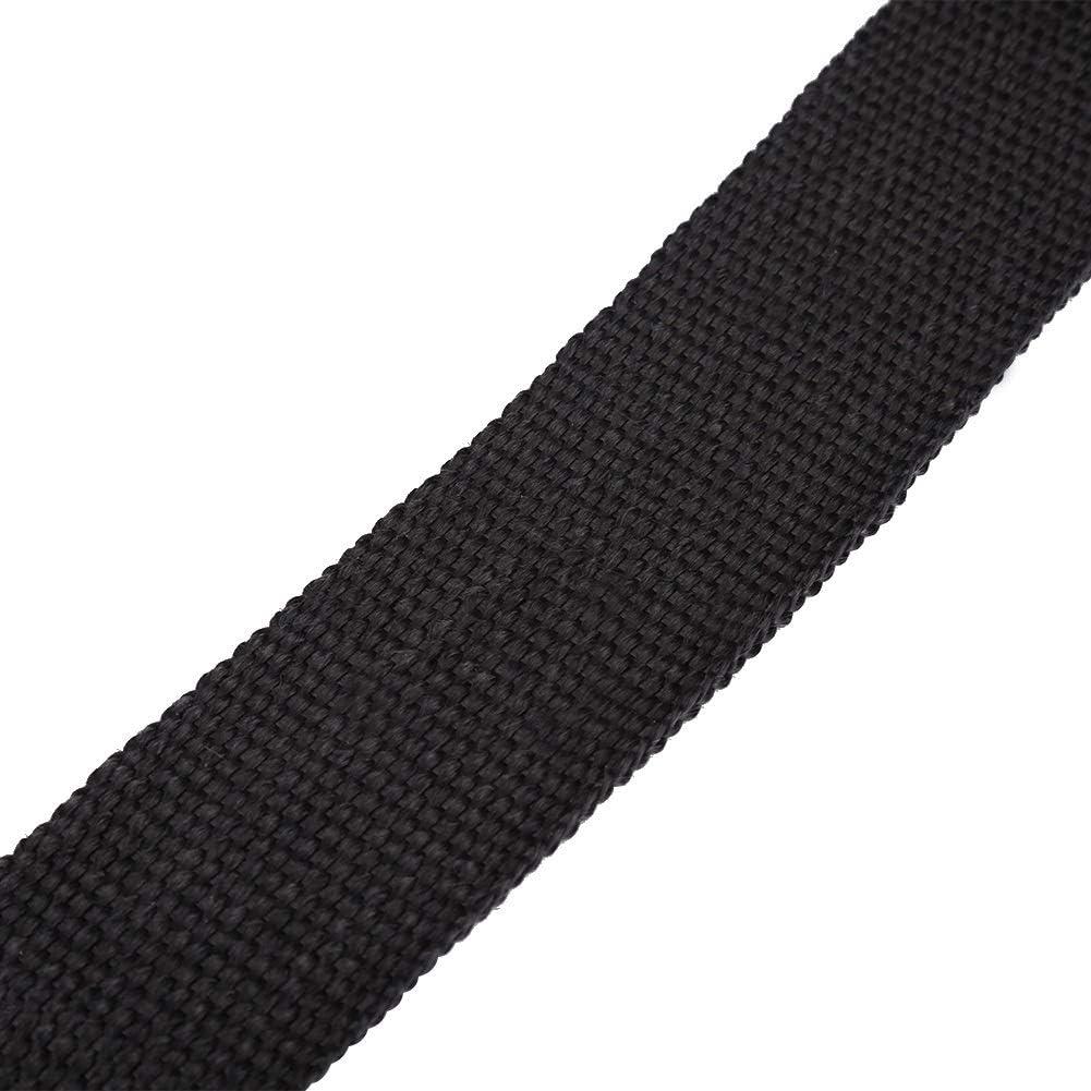 Tarente 16FT schwarz hohe W/ärmed/ämmung Auspuff-Verpackung Band Tuch Compatible with Auto-Motorrad